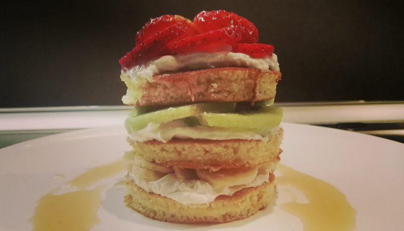 Pancake alla frutta - crepiera Caso Design