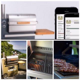 Agosto. Grigliate perfette con il nostro barbecue a pellet. Grillson